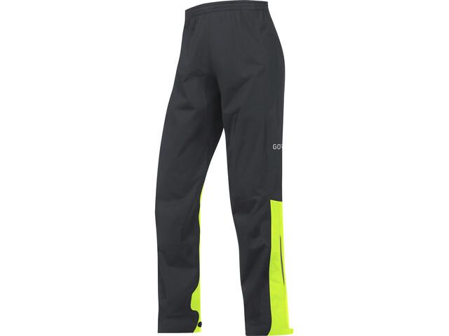 GORE WEAR C3 Gore-Tex Active Pants Herre black/neon yellow